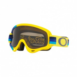 Oakley XS O Frame Troy Lee Design Pre-Mix Yellow Blue Dark lens