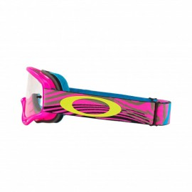 Oakley XS O Frame Wind Tunnel Pink Clear Lens