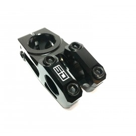 Sd Cnc Stem Steerer Black