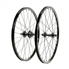 SD Ace Junior 1 1/8 Alloy Cassette Wheelset Full Black