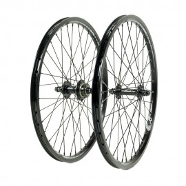 SD Ace Expert 1 3/8 Alloy Cassette Wheelset Full Black