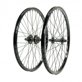 SD Ace Expert 1 3/8 Alloy DISC Cassette Wheelset Full Black