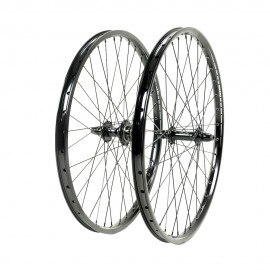 "SD Ace PRO 24"" Alloy Cassette Wheelset Full Black"