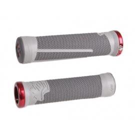 Odi Ag-2 Signature V2.1 Lock-On Grips - Graphite/Cool Gray