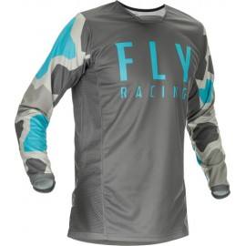Fly Kinetic K221 Jersey 2021 Grey/Blue