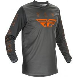 Fly F16 Jersey 2021 Grey/Orange
