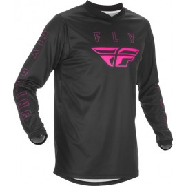 Fly F16 Jersey 2021 Black/Pink