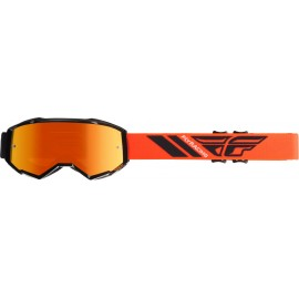 Fly  2019 Zone Goggle Black/Orange W/Orange Mirror Lens