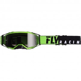 Fly Zone Pro Goggle Black/Green W/Dark Smoke Lens