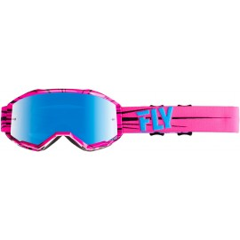 Fly Youth Zone Goggle Pink/Teal W/Smoke Lens