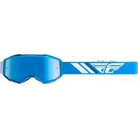 Fly Youth Zone Goggle Blue W/Sky Blue Mirror Lens
