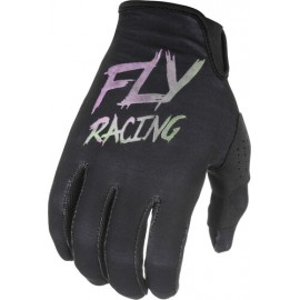 Fly Kinetic S.E. Gloves 2021 Black/Pink/Blue
