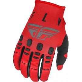 Fly Kinetic K121 Gloves 2021 Red/Grey/Black
