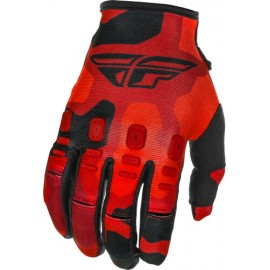 Fly Kinetic K221 Gloves 2021 Red/Black