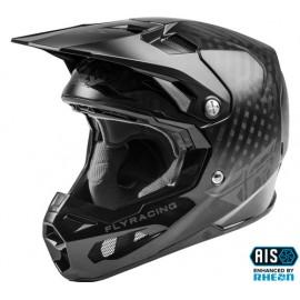 Fly Racing Formula Solid Helmet 2021 Black Carbon