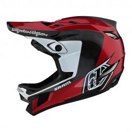 Troy Lee Designs D4 Carbon 2021 Helmet, Corsa Sram