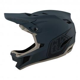 Troy Lee Designs D4 Composite 2021 Helmet, Stealth Gray