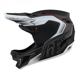 Troy Lee Designs D4 Composite 2021 Helmet, Exile Black