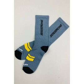 Stay Strong Word Socks Grey