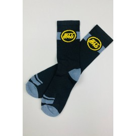 Stay Strong Icon Socks Black