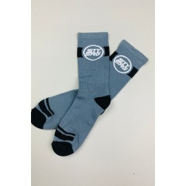Stay Strong Icon Socks Grey
