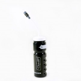 SD Components Bottle V2 With Straw 700ml Black/White