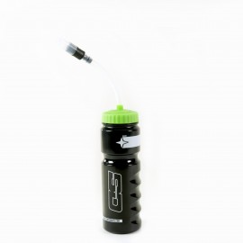 SD Components Bottle V2 With Straw 700ml Black/Green