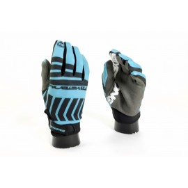 Stay Strong Chev Stripe Glove Teal