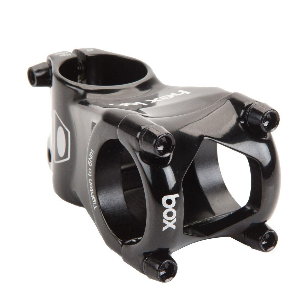 Box Hex Lab Mini Stem 28 6mm Black Bmx24seven