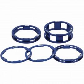 Box One Stem Spacer Kit X 10, 5, 3,1(2Pcs)Mm Blue