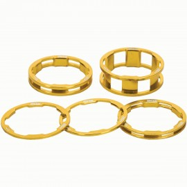 Box One Stem Spacer Kit X 10, 5, 3,1(2Pcs)Mm Gold