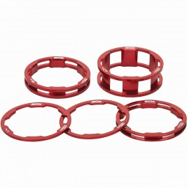 Box One Stem Spacer Kit X 10, 5, 3,1(2Pcs)Mm Red