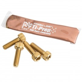 Box Ti Bolts 4Pc Set Hollow Mini Stem M6X20 Gold