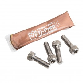 Box Ti Bolts 4Pc Set Hollow Mini Stem M6X20 Natural