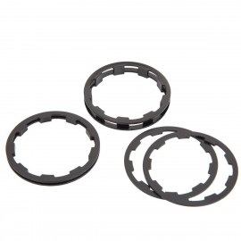 Box Zero Shimano Comp Cassette Spacers 1 To 5Mm Black