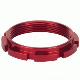 Box Edge 8 Prong Lock Ring Red