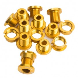 Box 7075 Alloy Chainring Bolts 15Pcs Gold