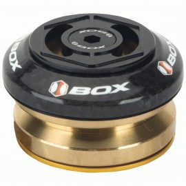 "Box Glide Carbon Integrated Headset 1 1/8"" Black"