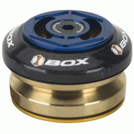"Box Glide Carbon Integrated Headset 1 1/8"" Blue"
