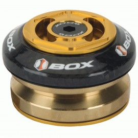 "Box Glide Carbon Integrated Headset 1 1/8"" Gold"