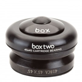 "Box Two . 45X45 1"" Integrated Conversion Headset (For 1 1/8"" Head Tubes) Black"