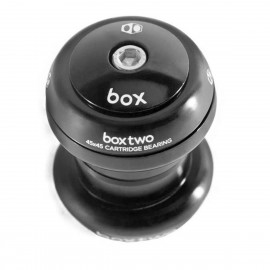 "Box Two 45X45 1 1/8"" Threadless Headset Black"