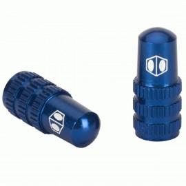 Box One Cone Valve Cap Blue Presta