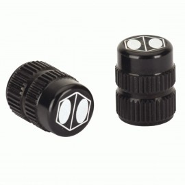 Box One Cube Valve Cap Black Schrader