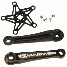 Answer Mini Crank Black