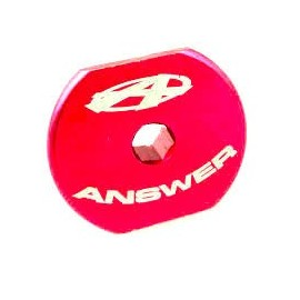 "Answer Dag Top Cap 1-1/8"" Thread Pitch 24X1.5Mm Red"