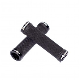 Yess Bmx Race Grips Black 130Mm