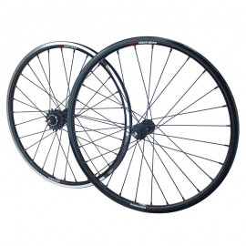 Answer Mini Holeshot Cassette Wheelset 20X11/8 Black