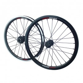 Answer Expert Holeshot Cassette Wheelset 20X1.50 Black