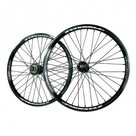 Answer Pro Pinnacle Cassette Wheelset 20X1.75 Black
